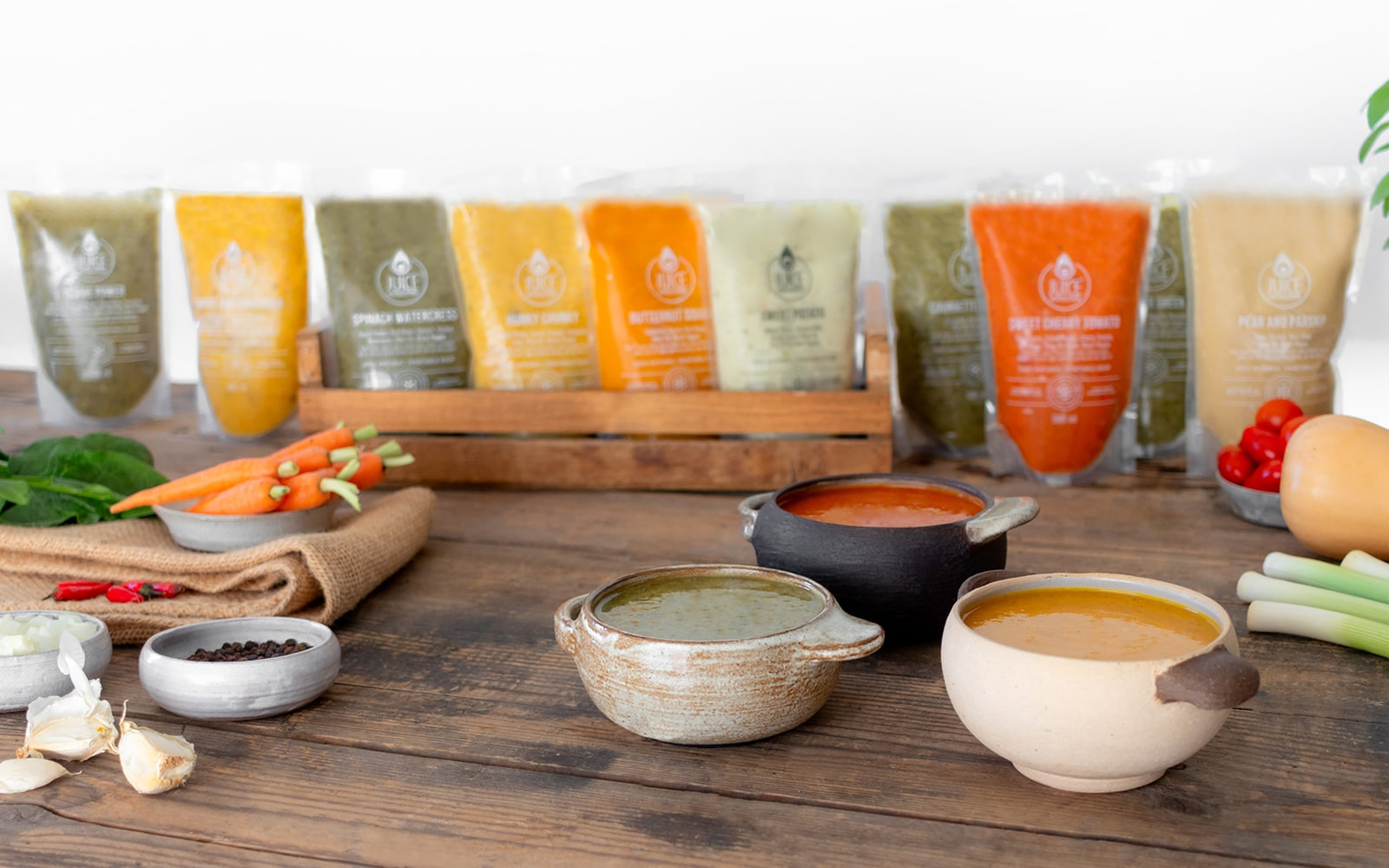 JUICE AND SOUP CLEANSE PROGRAMS