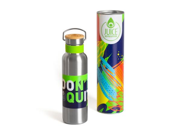 Water Bottle & Gift Tube