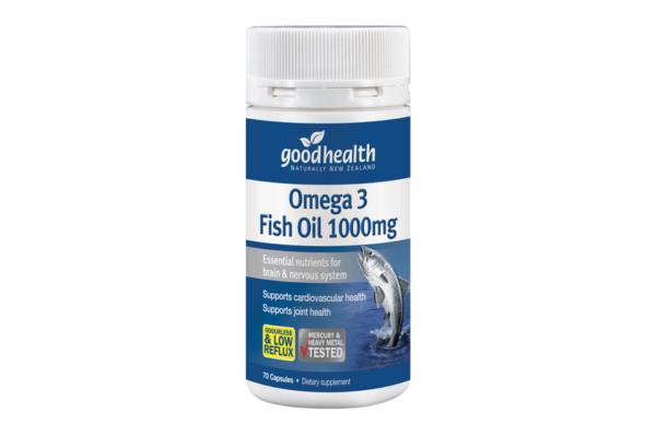 Goodhealth Omega 3 Fish Oil 1000mg